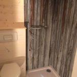 Tiny House Dusche und Toilette