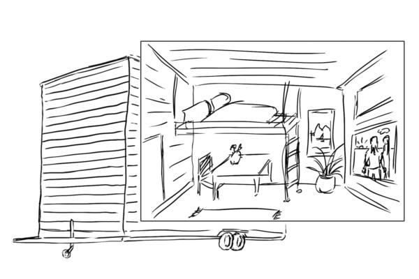 Aufteilung Tiny House